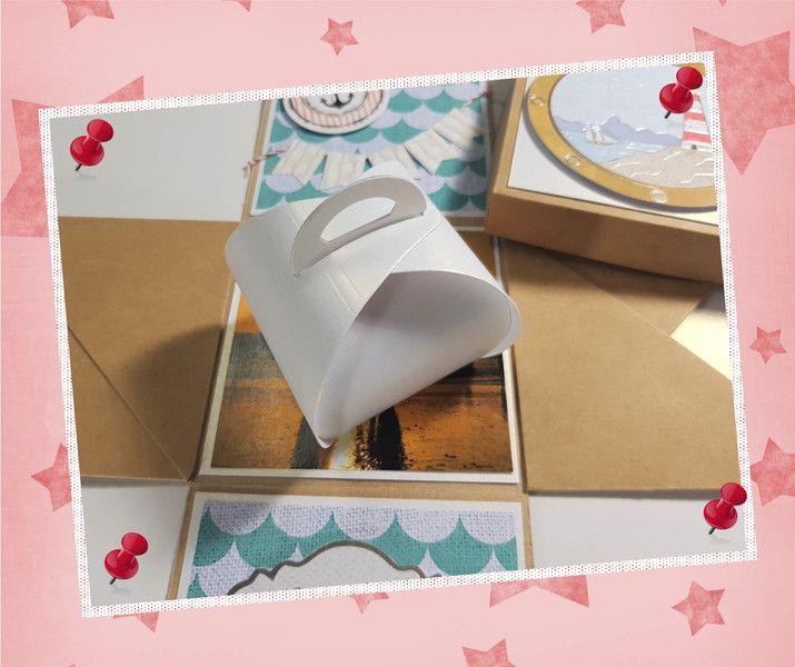 Geschenkkartons - Explosionsbox Hochzeit - Hochzeitsreise - ein Designerstück von Pusteblumendesign bei DaWanda