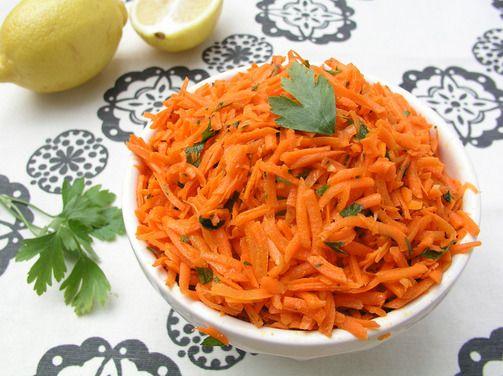 Moroccan Raw Carrot Salad, a recipe on Food52