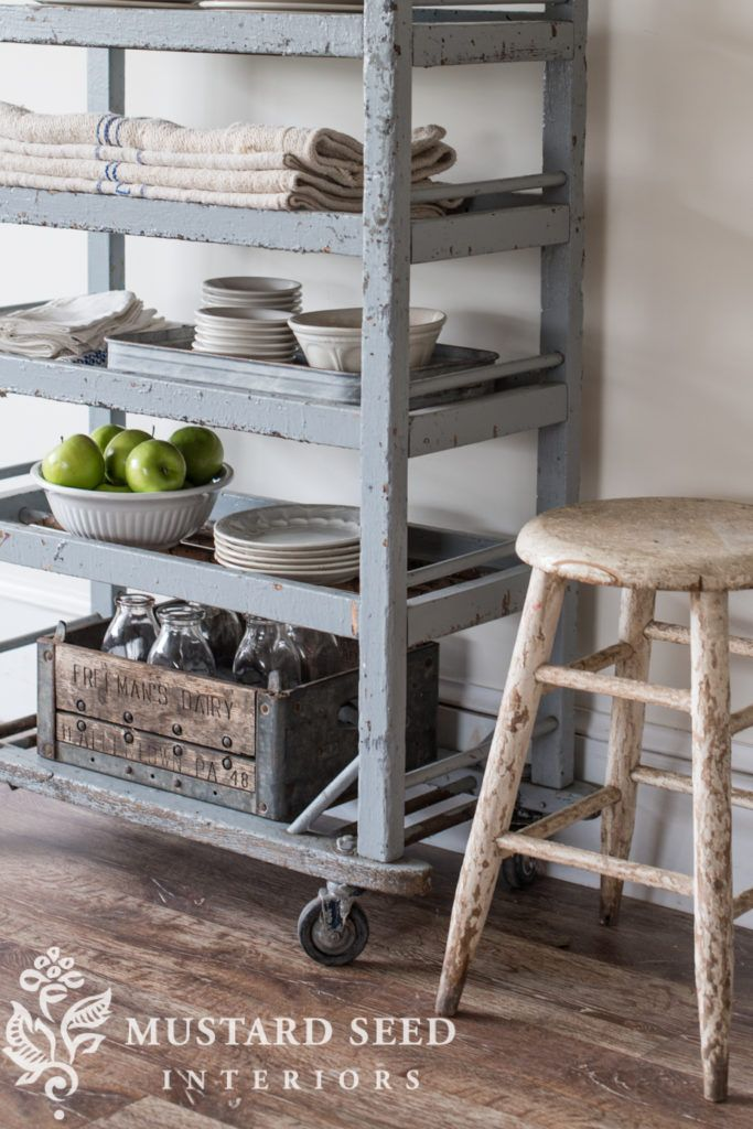 miss mustard seed | the gray shoe cart | miss mustard seed finds another perfect antique piece to bring to the Lucketts Spring Market