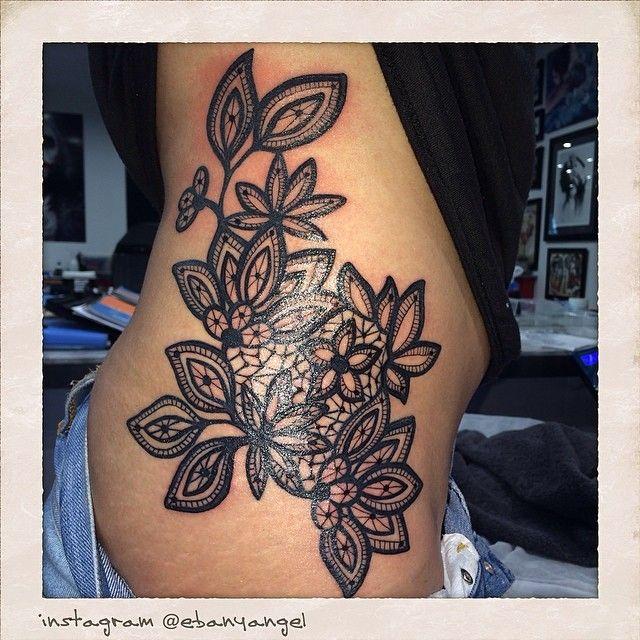 10 Best Ideas About Black Flower Tattoos On Pinterest: 10 Best Ideas About Lace Flower Tattoos On Pinterest