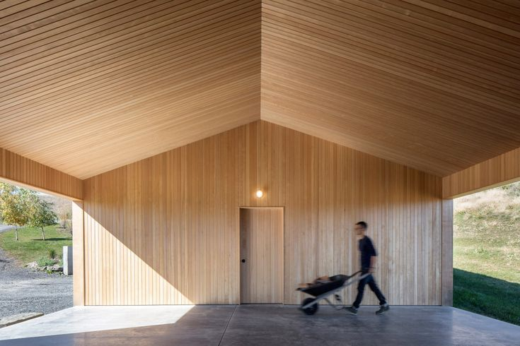 Ancram Barn by Worrell Yeung