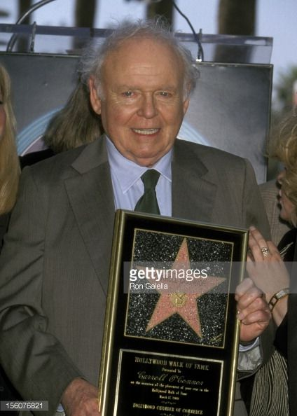 Carroll O'Connor during Carroll O'Conner Honored with a Star on the Hollywood Walk of Fame at Hollywood Walk of Fame in Hollywood, California, | Carroll O'Connor during Carroll O'Conner Honored with a Star on the ...