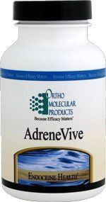 Adrene-Vive 60 Capsules by Ortho Molecular Products by Ortho Molecular Products. $43.00. During times of acute stress, the hypothalamic-pituitary-adrenal (HPA) axis is over-stimulated and needs help re-balancing. The over-production of cortisol and other stress hormones is typical for individuals with HPA axis overload. AdreneVive is formulated to help respond to HPA axis overload by reducing cortisol levels and limiting the negative impact of acute adrenal stress.