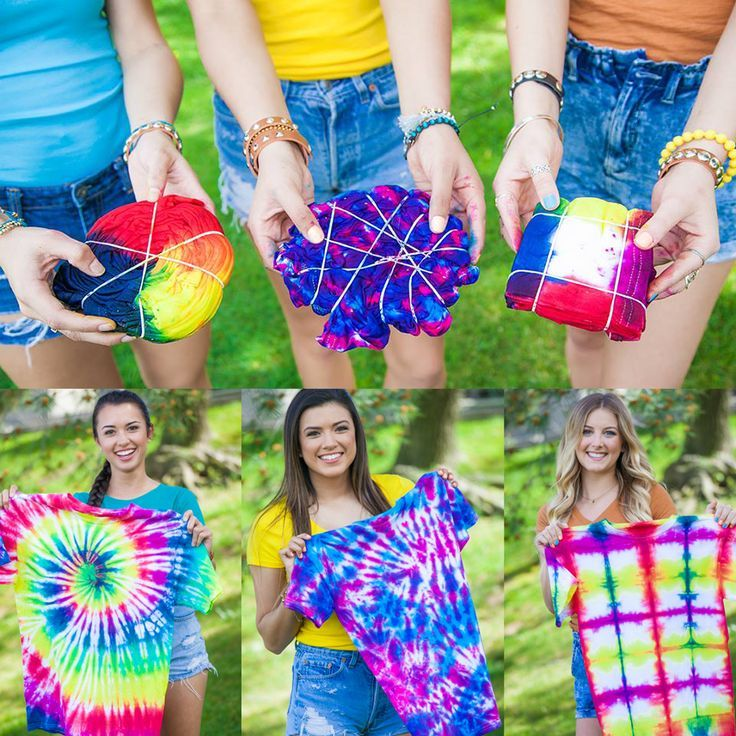 Tie Dye your Summer with these cool tie dye techniques created with Tulip One-Step Tie Dye!  Here's 3 cool techniques to try with the kit.