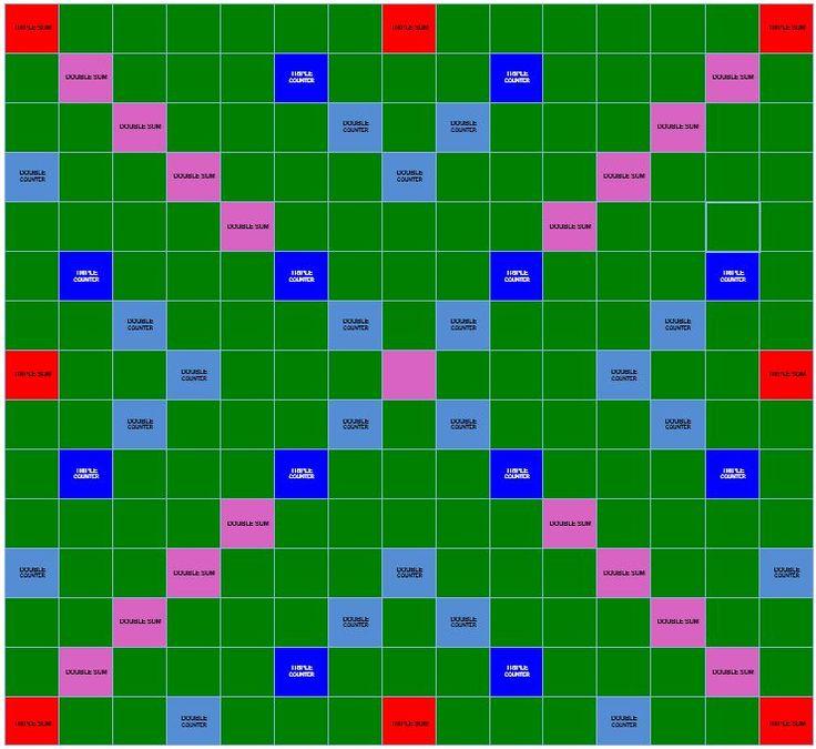 Maths Scrabble