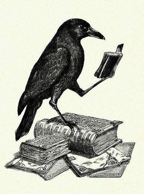 Продажа открытка худ ворона с аттестатом зрелости, открытки бабушке
