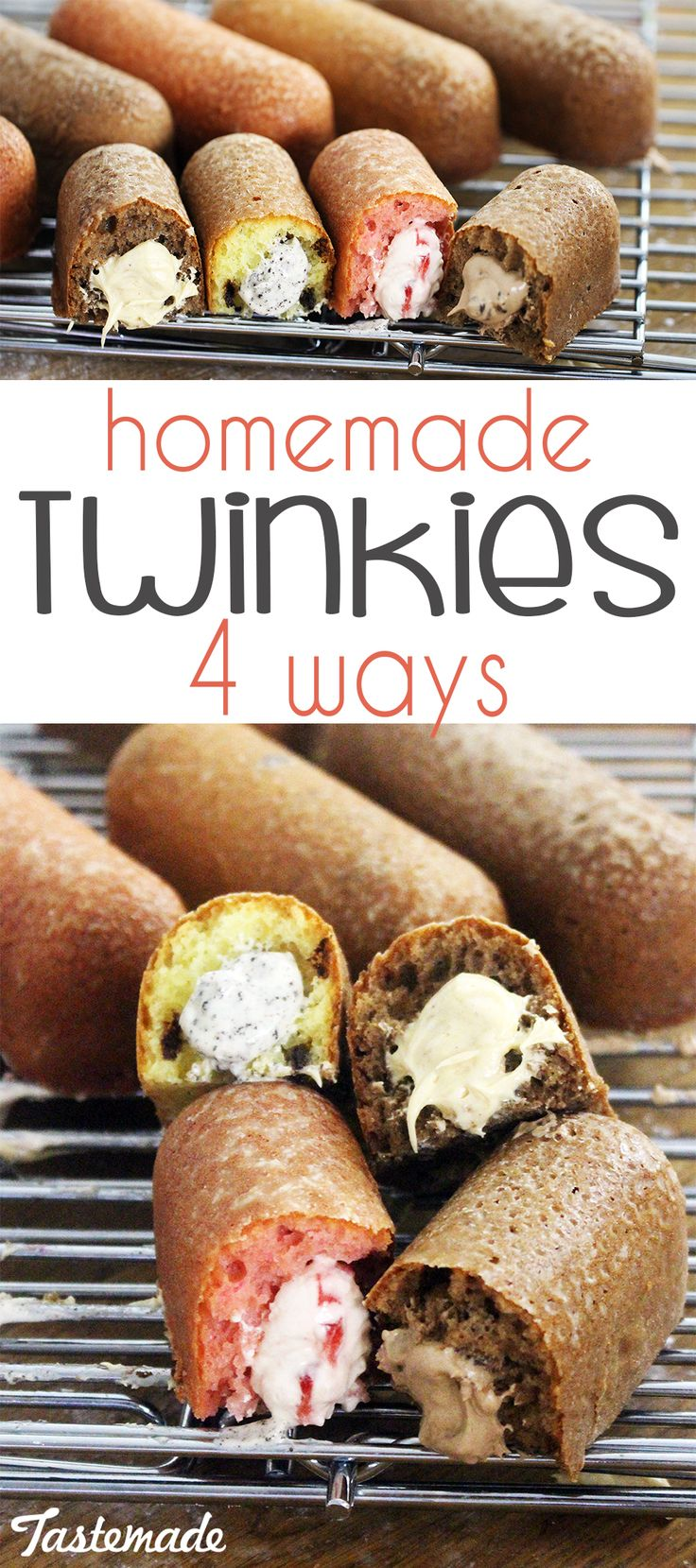 If you like Twinkies, you'll love these 4 little cakes stuffed with flavorful creams like peanut butter, Oreo and more.