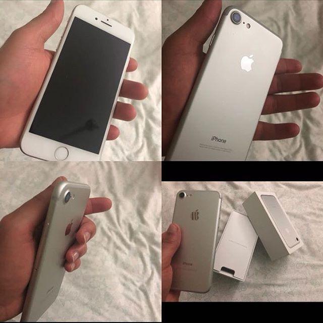 Vendo Iphone 7 de 128GB Desbloqueado de fabrica  Con su caja RD$24mil ___ Interesados:849-264-6268 @vendeyard