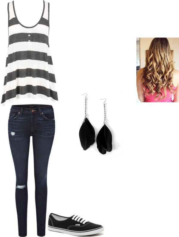 """school"" by danielle-bradbury on Polyvore"