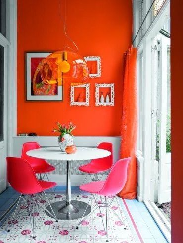 Hot Pink Room 192 best orange and pink rooms images on pinterest | home, pink