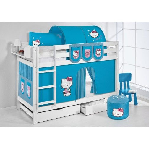 etagenbett wei 223 hello kitty jelle bunk bed for kids