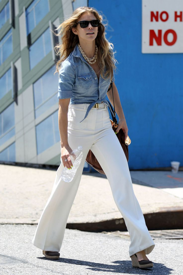 120 best images about Flare denim trend 2015...How to wear it. on ...
