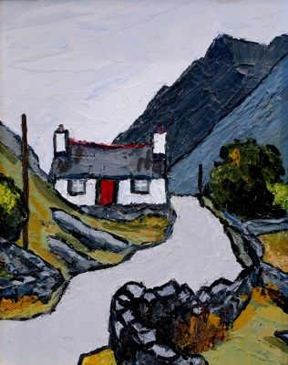 Road to the Quarry by British Contemporary Artist David Barnes