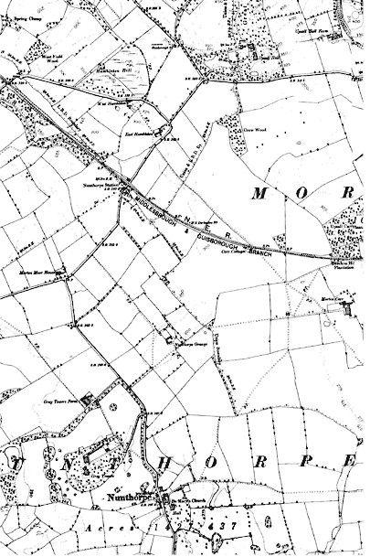Old Maps of Nunthorpe 1895