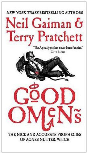 """Good Omens"" is a book about the end of the world, as seen by Agnes Nutter, witch. The story follows quite a few distinct story lines. If you are familiar with Mr. Neil Gaiman, you will recognize..."