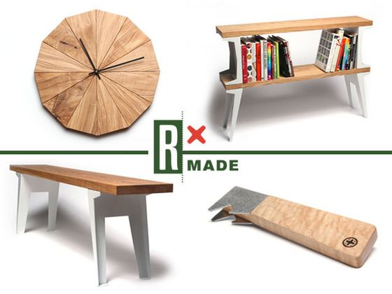 RX Made and Strand Design Launch Line of Clever Products Made From Reclaimed Wood | Inhabitat - Green Design, Innovation, Architecture, Green Building