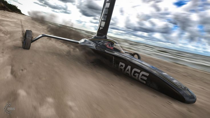 Rage Land Yacht. Modeled in NX, Rendered in KeyShot.
