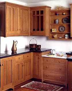 Craftsman Style Kitchen Cabinets Cheap Rugs Mission Accomplished Arts And Crafts Cabinetry Cedar City House