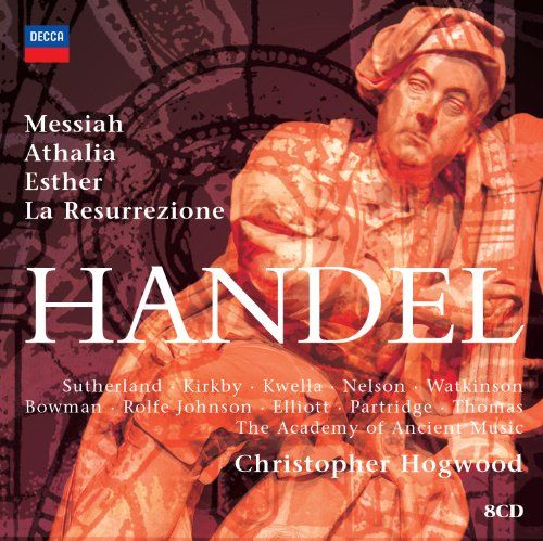 awesome Hogwood conducts Handel Oratorios (8 CDs)