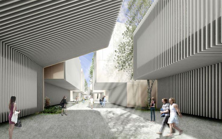 ER . nuevo aulario en la Universidad San Jorge . Villanueva de Gállego  (1)