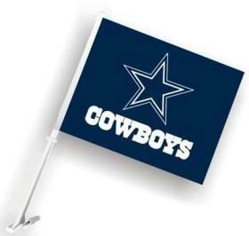 Dallas Cowboys Flag Car Style