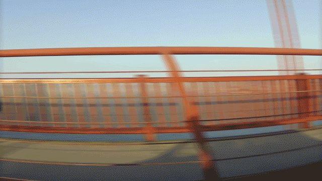 Golden Gate Bridge Top 5 des visites-express de San Francisco en Gifs, pas le temps d'acheter des souvenirs http://www.topito.com/top-visites-express-san-francisco-gif