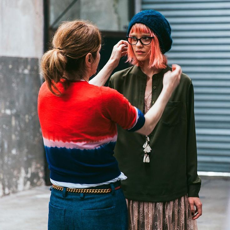 #Sisley #Sisleyfashion #FW2016 #woman  #trend #collection #fashion #backstage #accessories #beanie