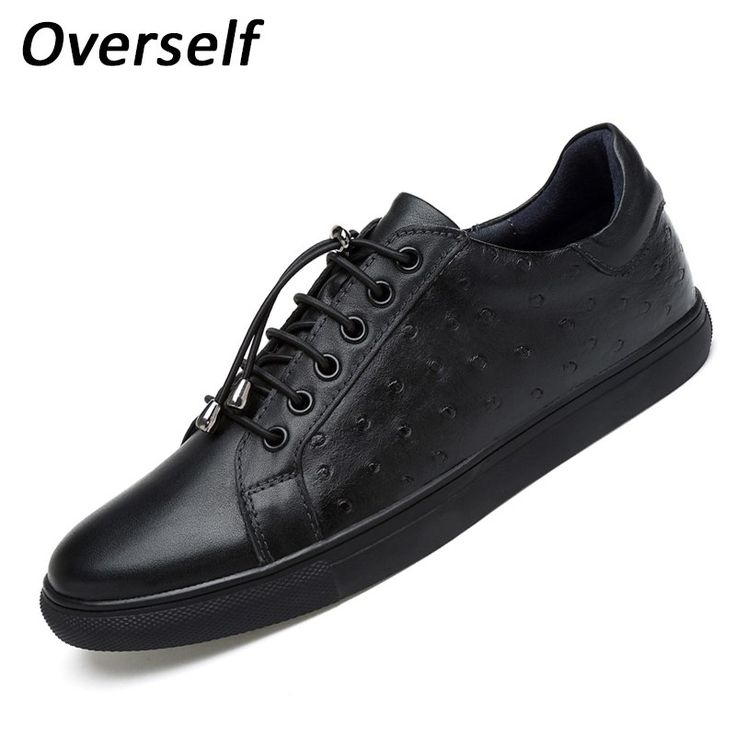 Men's Casual Shoes Genuine Leather Loafers Moccasins Men Shoes For Man 2017 Dress Shoes Luxury Brand Flats plus Big size to 47