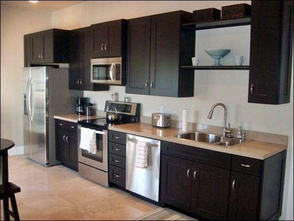 One Kitchen Cabinet best 25+ one wall kitchen ideas only on pinterest | kitchenette