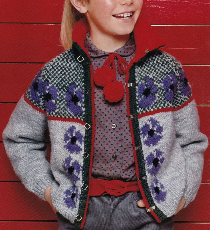 44 best Knitting Patterns Fair Isle Intarsia & Multi Coloured ...