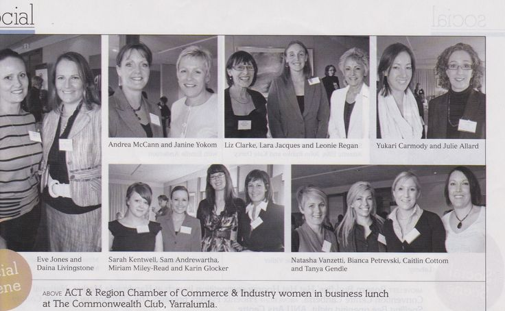 Networking at ACT Women in Business Event