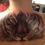 Tiger Tattoos on Full Back