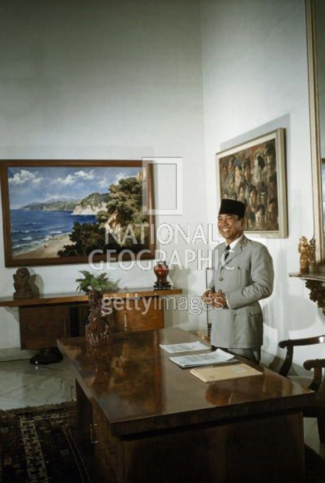 Ir. SOEKARNO - Courtesy NATIONAL GEOGRAPHIC