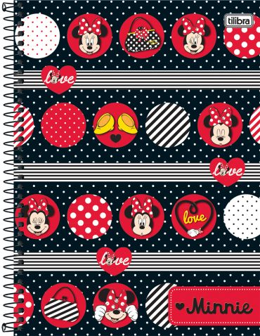 Caderno Tilibra Universitário 96fls - Minnie
