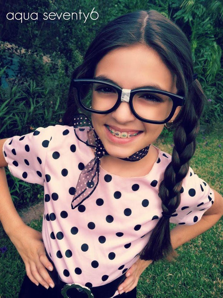 Aqua Seventy6: Nerdy 50s Girl {Putting a Twist on a Store Bought Halloween Costume}
