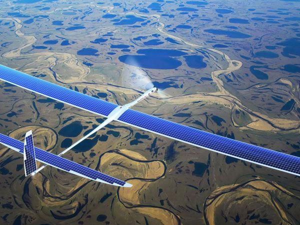 Facebook'tan İnsansız Hava Araçlarıyla İnternet Projesi