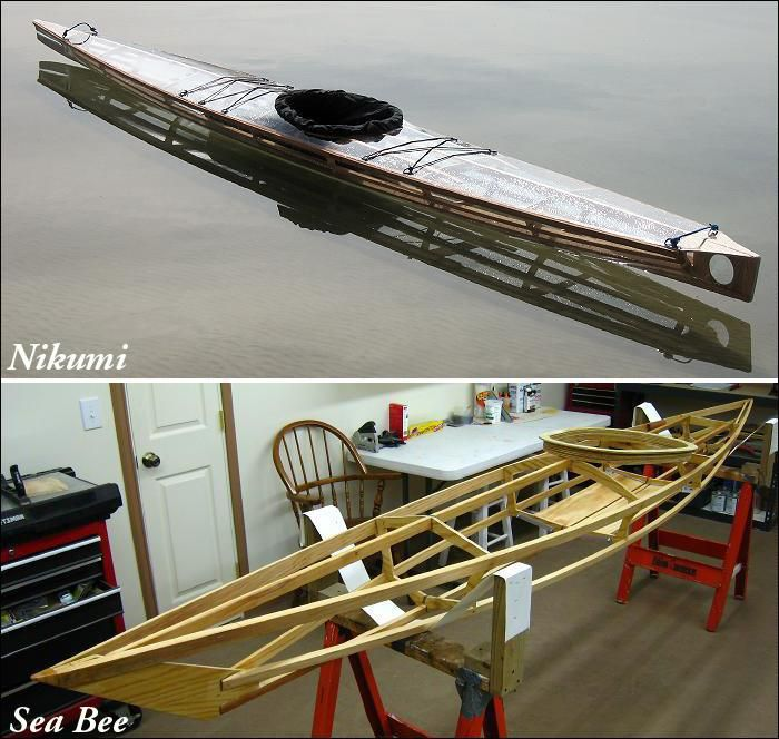 Wood Frame Kayak Builders Manual - Homebuilt SOF kayaks by Thomas Yost