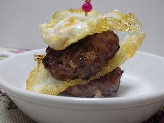 La Cocina de Olga: TAPA DE Minihamburguesas Y HUEVO @ RecetarioMañoso