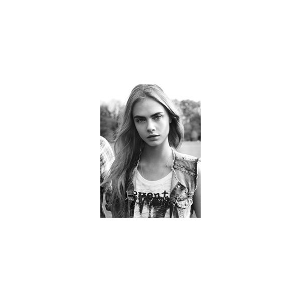 Pepe Jeans Spring/Summer 2013 Campaign with Cara Delevigne ❤ liked on Polyvore