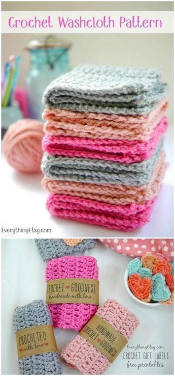 Padrões de pano de prato de crochê para embelezar sua cozinha