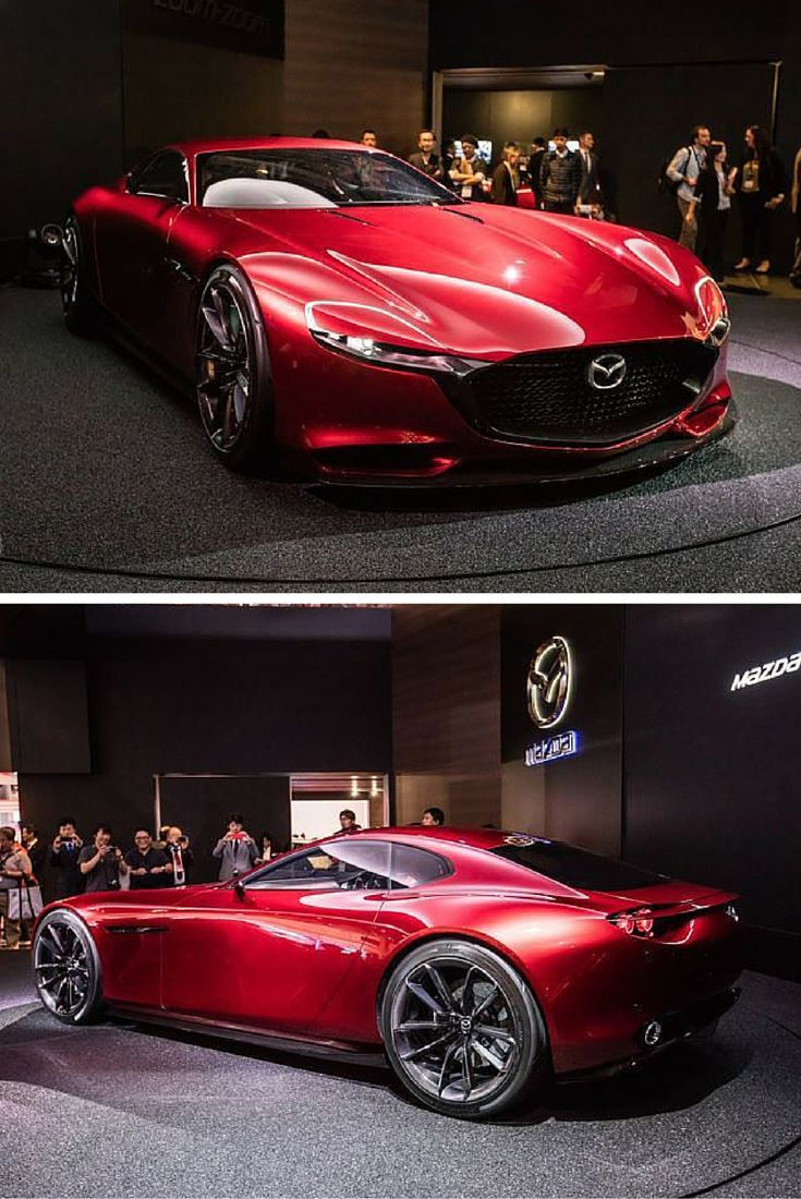 We never knew that the mazda would look this good