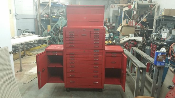 Vintage matco tool box - The Garage Journal Board