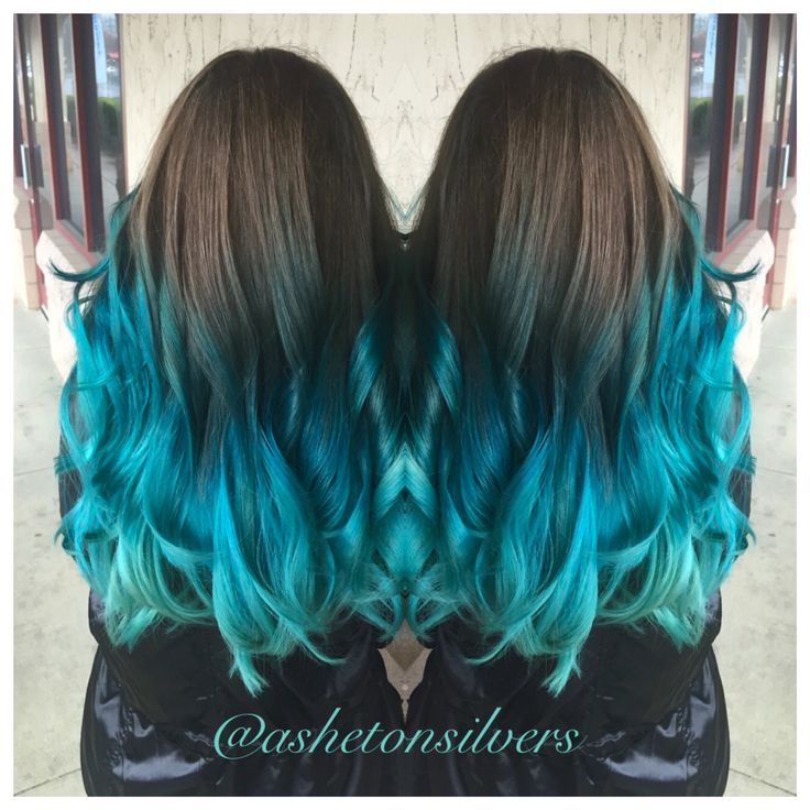 25 Best Ideas About Teal Green Color On Pinterest: Best 25+ Teal Ombre Hair Ideas Only On Pinterest
