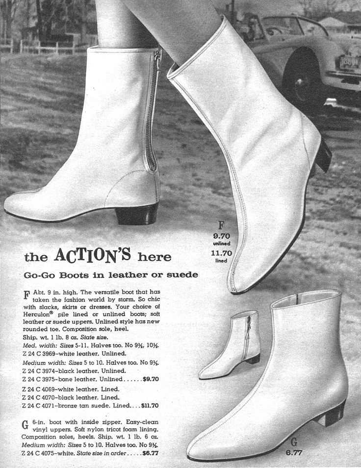 1966 vintage white gogo boots - Google Search
