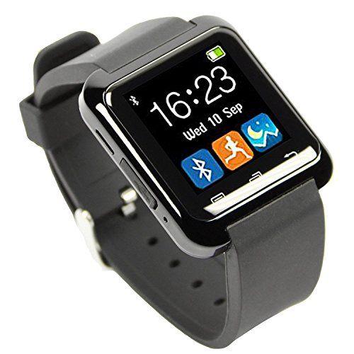 [Smartwatch Montre Connectées] EasySMX Dernière Android Smartwatch Bluetooth 4.0 EasySMX Multi-Languages Smart Bande Watch Smart watch avec…