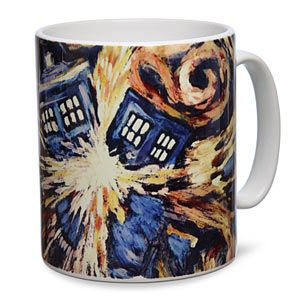 Doctor Who Van Gogh TARDIS Mug - a replica of the painting from The Doctor's good friend, Vincent. In a coffee mug. What else could you want?