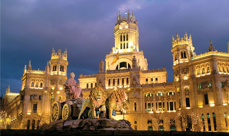 Cibeles Square Madrid, Spain. This is one place I have not been yet but in my plans