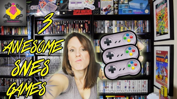 3 SNES GAMES YOU MUST PLAY | Awesome Super Nintendo Games | TheGebs24