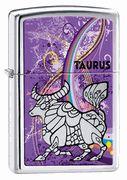 Zippo Taurus High Polish Chrome Lighter  #zippo #taurus #zodiac #eLighters