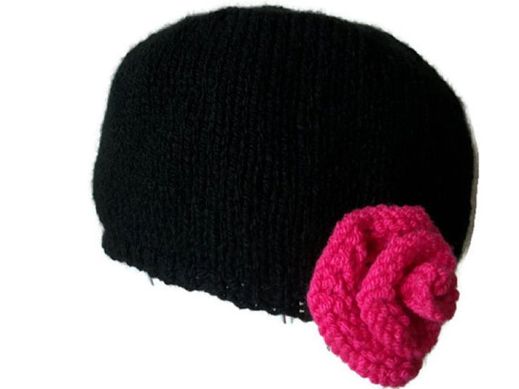 Cloche Hat With Rose Trim - Choose Colour, £14.99